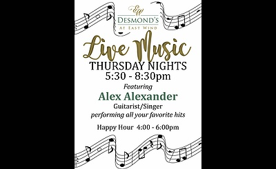 Live Music Thursdays at Desmond's