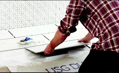 DIY Workshop: Installing Tile Flooring