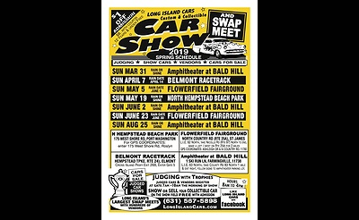 Spring Car Show at Amphitheater at Bald Hill