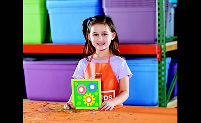 Kids Workshop: Blooming Art