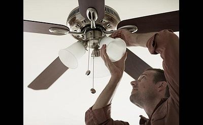 DIY Workshop: Installing a Ceiling Fan