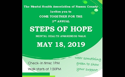 Steps of Hope: Walk to Celebrate Mental Health Awareness Month