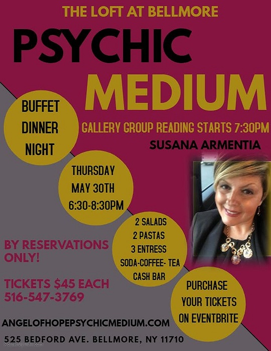 Psychic Medium Buffet Dinner Night