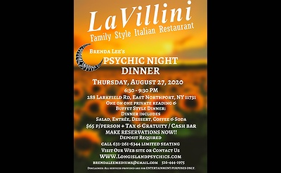 Psychic Night Dinner At La Villini