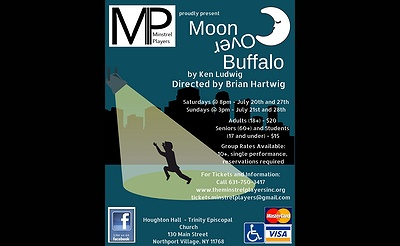 "The Minstrel Players present Ken Ludwig's ""Moon Over Buffalo"""