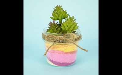 MAKE break Mini Sand Art Planter
