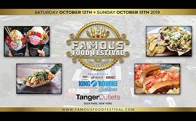 Famous Food Festival - October 2019