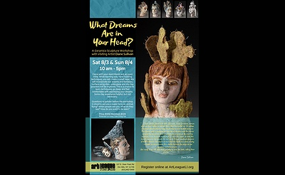 What Dreams are in Your Head! A Ceramic Sculpture Workshop with Diane Sullivan