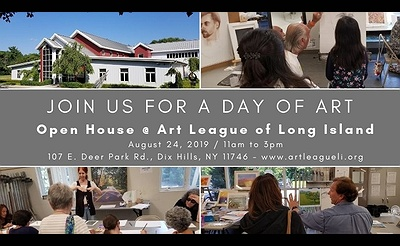 Open House at the Art League