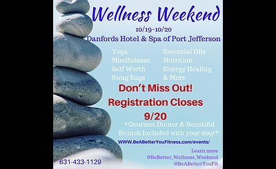 Wellness Weekend Yoga/Energy Healing/Nutrition/Meditation/& More