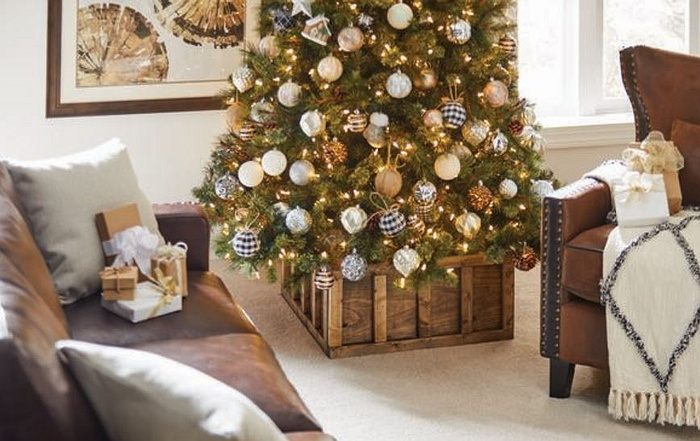 Diy Workshop Christmas Tree Stand Box