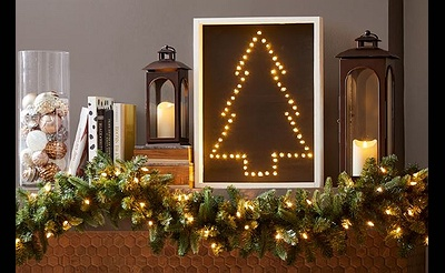 DIY Workshop: Light Up Christmas Sign