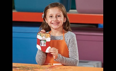 Kids Workshop: Stocking Ornament