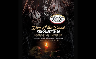 Day of the Dead Halloween Bash at Union Cantina
