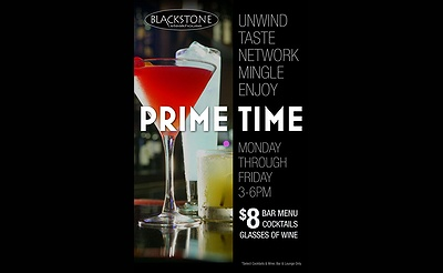 Happy Hour at Blackstone Steakhouse