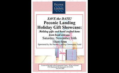Peconic Landing Holiday Gift Showcase