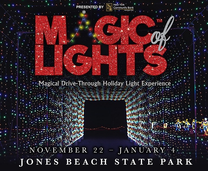 Holiday Light Show at Jones Beach