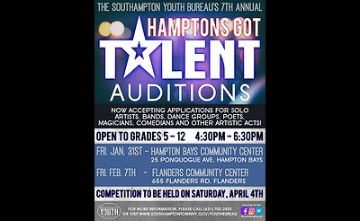 7th Annual Hamptons Got Talent Auditions