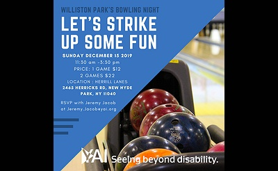 YAI Williston Park Bowling Fundraiser