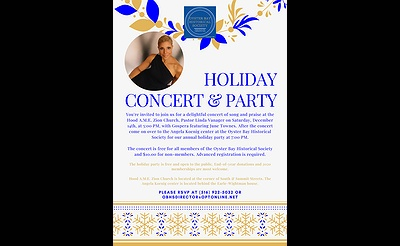 Oyster Bay Historical Society's Holiday Concert & Party