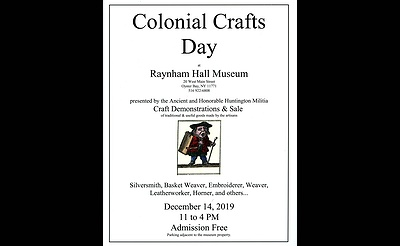 Colonial Crafts Day at Raynham Hall Museum
