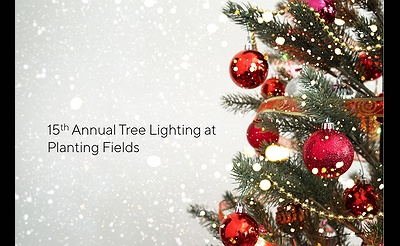 15th Annual Tree Lighting at Planting Fields