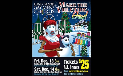 Long Island Gay Men's Chorus - Make The Yuletide Gay!