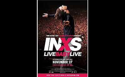 "Showcase Cinemas presents ""INXS: LIVE BABY LIVE AT WEMBLEY ST"""