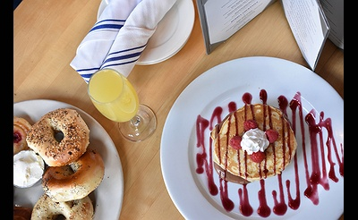 Saturday Brunch at Library Café