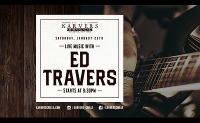 Ed Travers at Karvers Grille