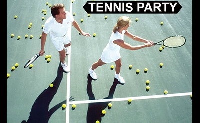 Long Island Singles Tennis Party Followed by Dinner All Ages
