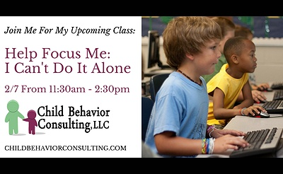 Help Focus Me: I Can't Do It Alone Presented