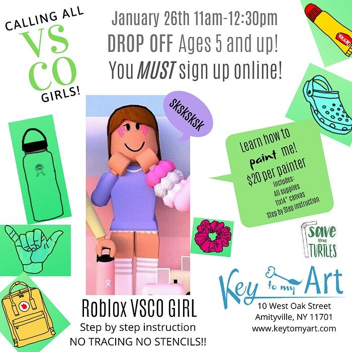 Vsco Paint Event For Kids