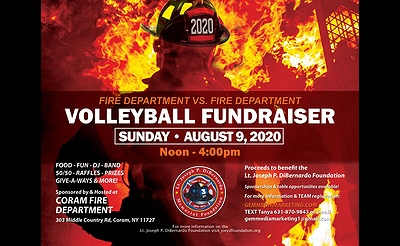 Fire Department vs. Fire Department Volleyball Tournament Fundraiser