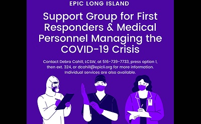 Virtual Support Group for First Responders & Medical Personnel