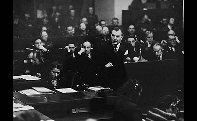 74th Anniversary of Robert H. Jackson's Closing Statement at the Nuremberg Trials