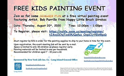 Free Kids Painting Event