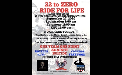 22 to Zero Ride For Life