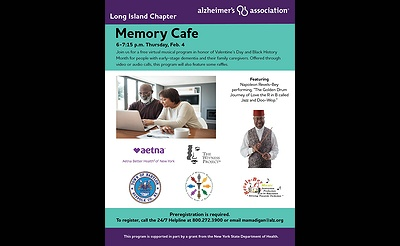 Virtual Memory Cafe with the Alzheimer's Association