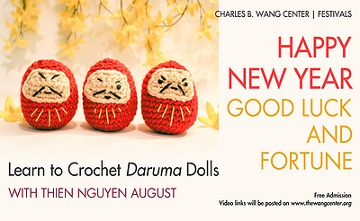 Good Luck and Fortune Learn to Crochet Daruma Dolls