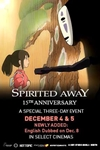 Spirited Away: 15th Anniversary