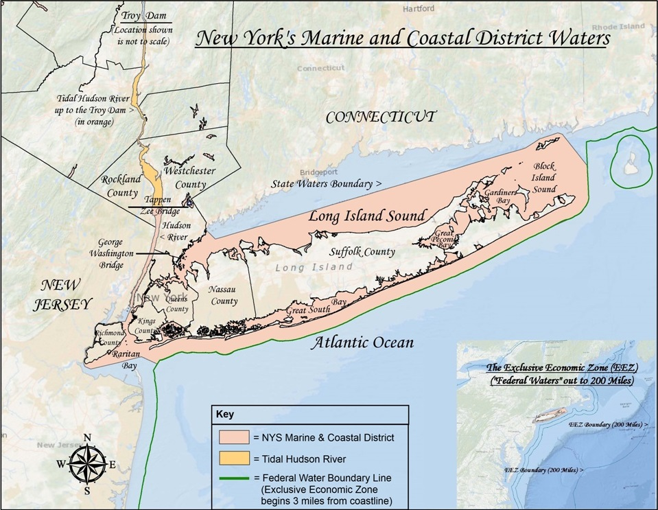 2017 fishing regulations fishing on long island 39 s north for Long beach fishing spots