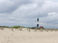 Robert Moses Lighthouse on Long Island